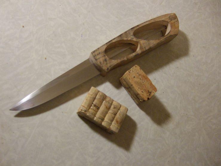 Ручка для ножа своими руками из пробки фото 334