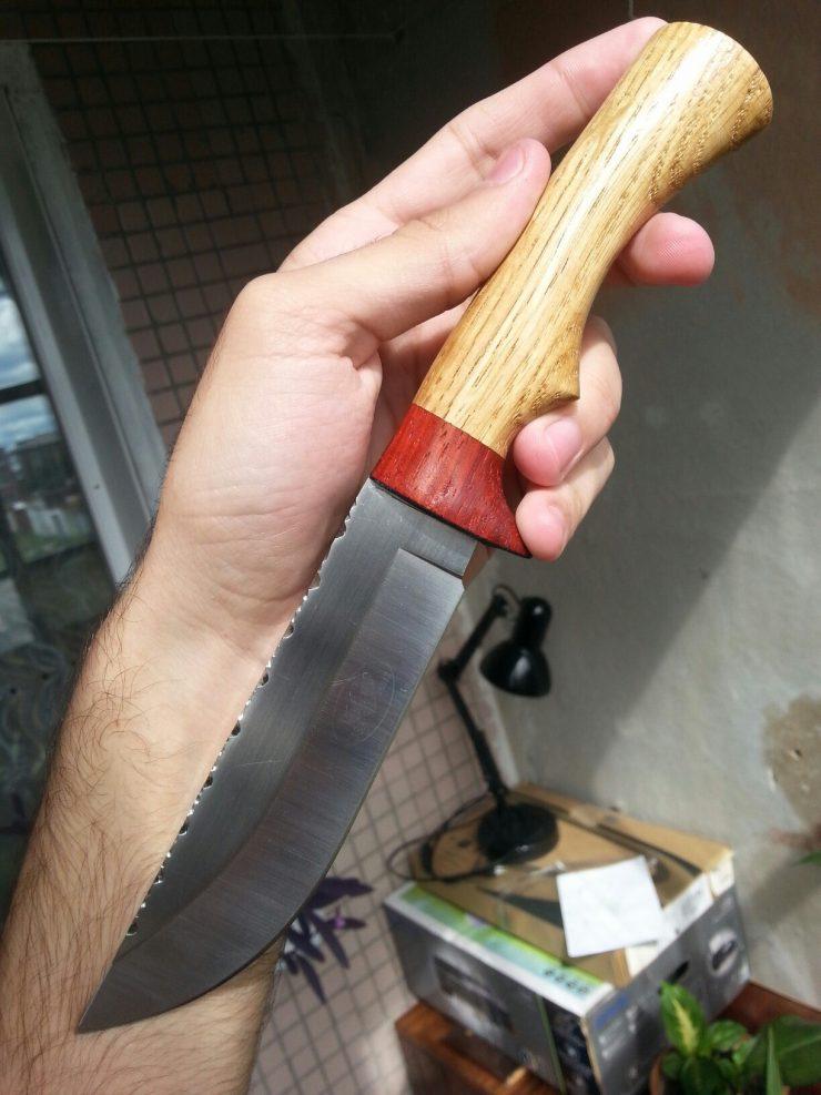 Сделать навершие к ножу своими руками