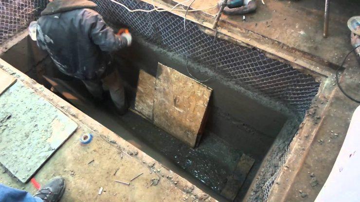 Пол на плиточного теплый расход клея