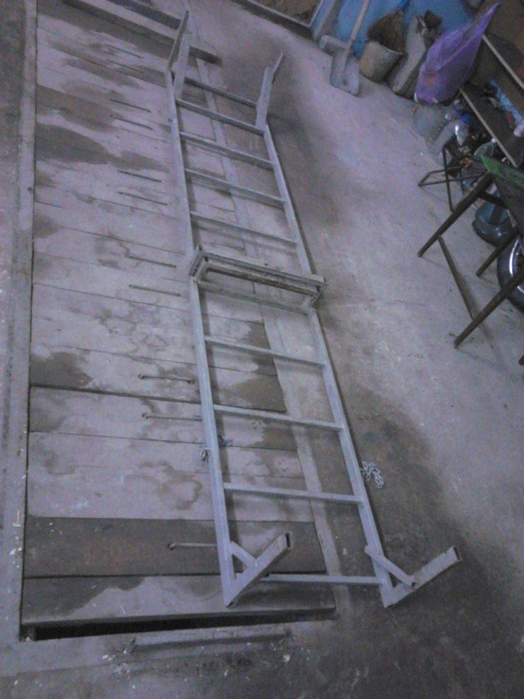 Лестница в гараж своими руками 160