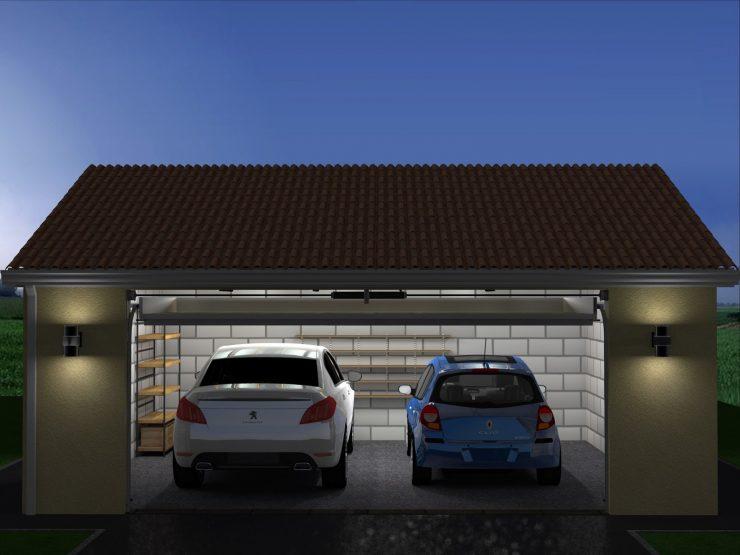 Построить гараж из шлакоблока своими руками видео фото 785
