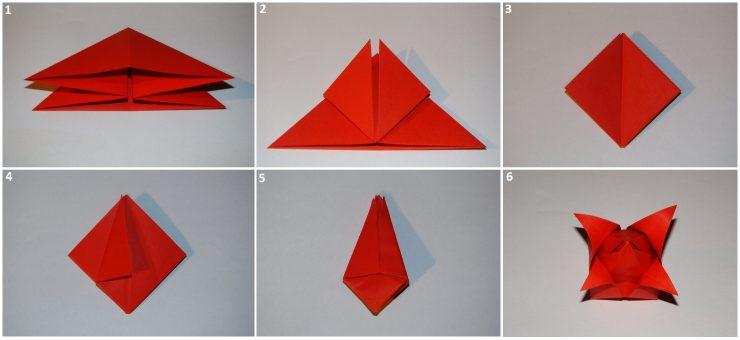 Как сделать тюльпан из бумаги? Учимся легко и быстро делать тюльпаны 14