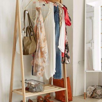 Вешалка для одежды своими руками - яркие и стильные идеи для дома. 85 фото самых простых проектов