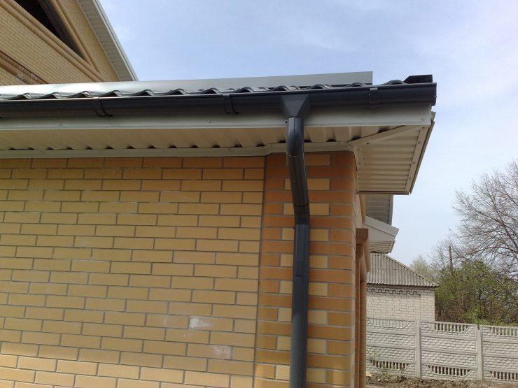 Стек с крыши для воды своими руками 32
