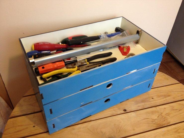 Как сделать инструментальный ящик своими руками 922