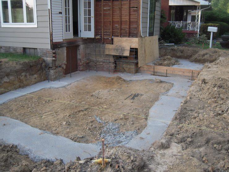 Как залить бетоном двор своими руками 581
