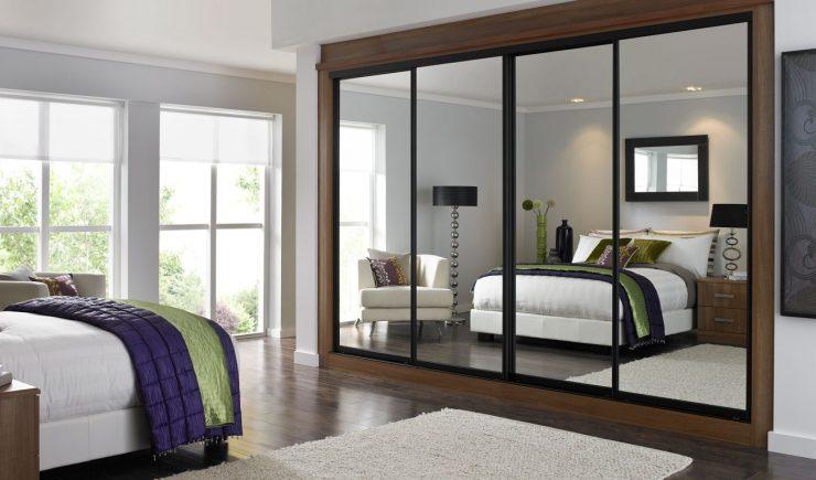 Зеркало в спальне фото интерьеров, PostRemont