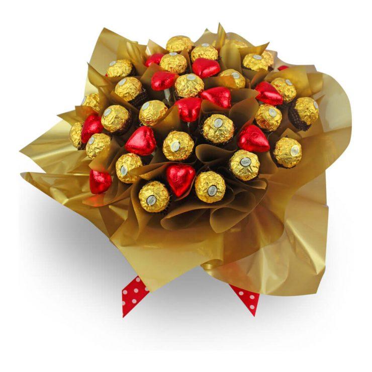 Букет из конфет своими руками конфеты коркунов фото 925