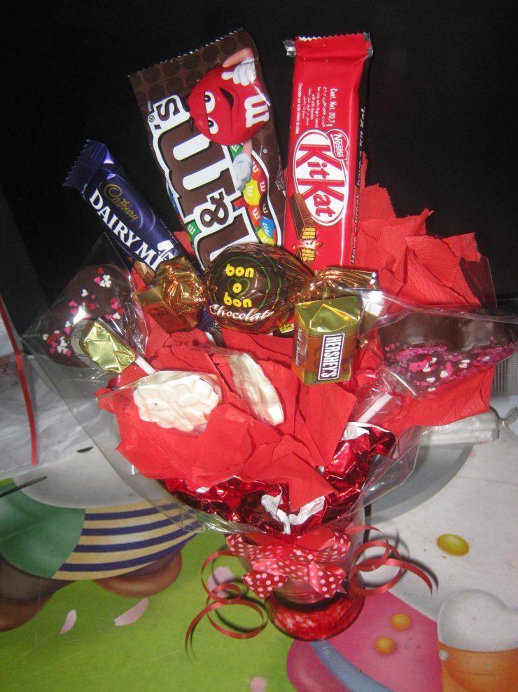 Подарки из сладкого фото 95