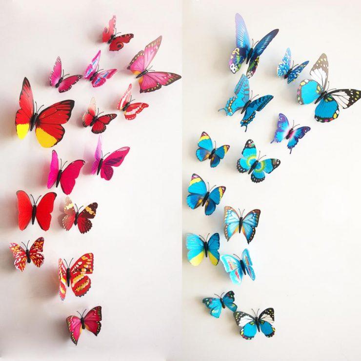 Своими руками бабочки для стен