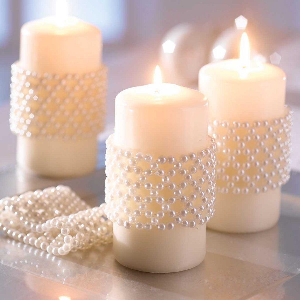 свечи в интерьере