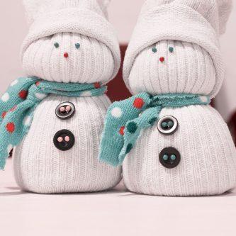 Как сделать снеговика в домашних условиях для детского сада на Новый год